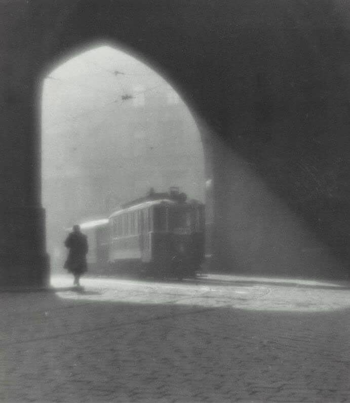 Josef Sudek, Morning Tram, 1924