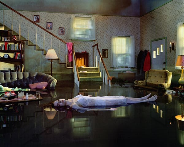 Gregory Crewdson, Untitled (Ophelia), 2001