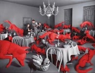 Sandy Skoglund, Fox Games, 1989  Copyright © Sandy Skoglund
